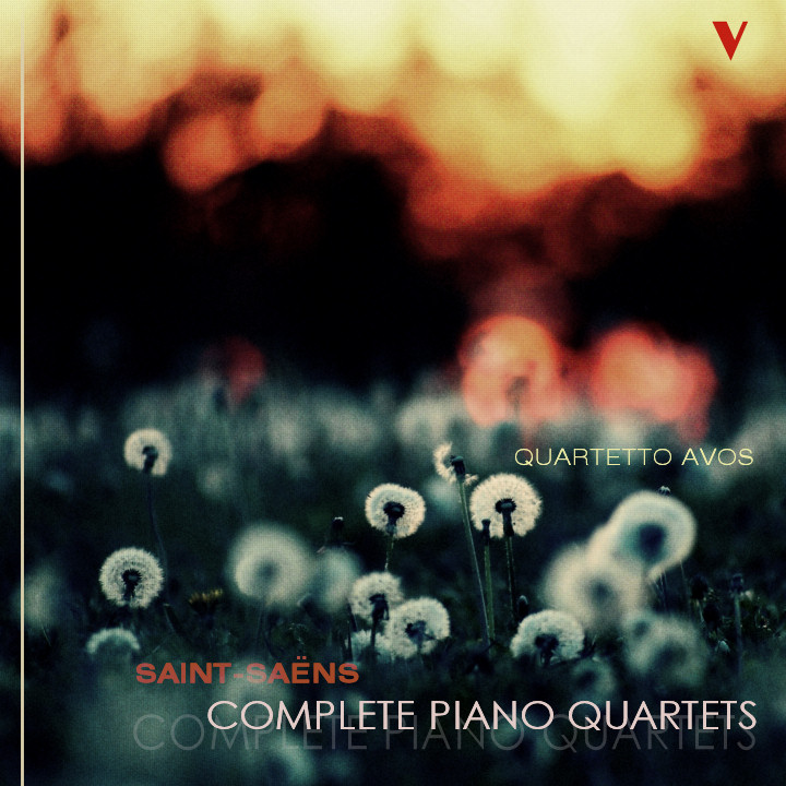 Quartetto Avos plays C. Saint Saens: Piano Quartets; E-flat major; B-flat major Op. 41